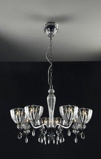 Kryształowa lampa wisząca